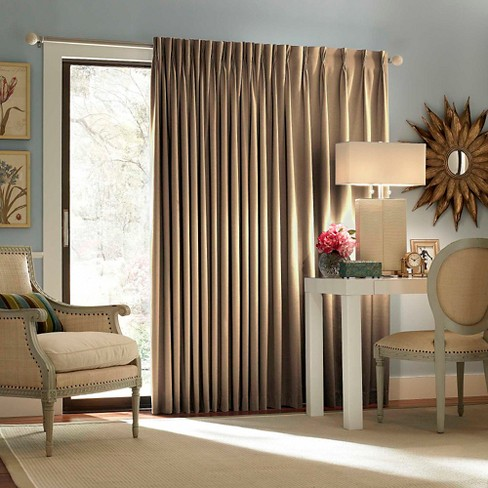Eclipse Patio Door Thermaweave Thermal Blackout Patio Door Curtain