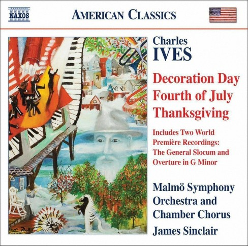 Malmo symphony orche - Ives:Decoration day thanksgiving four (CD) - image 1 of 1