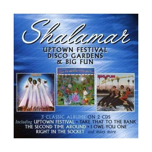 Shalamar - Uptown Festival/Disco Gardens/Big Fun (CD) - image 1 of 1