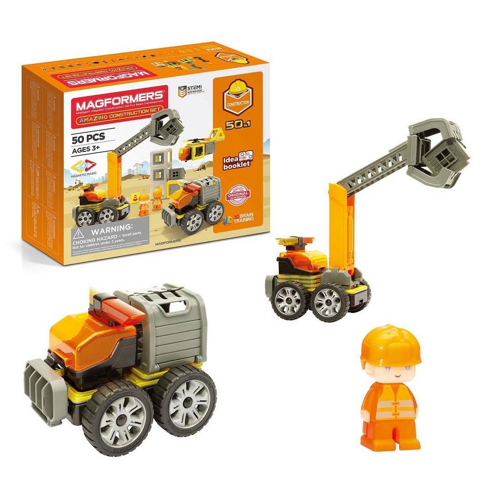 Magformers Amazing Construction 50pc Set