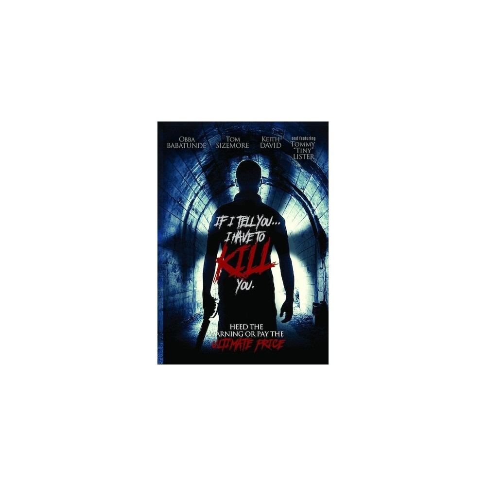 If I Tell You I Have To Kill You (Dvd)