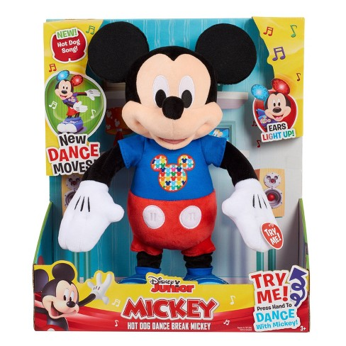 Disney Mickey Mouse Hot Diggity Remix Feature Plush