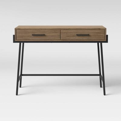 Corinna Wood Writing Desk with Drawers - Threshold™