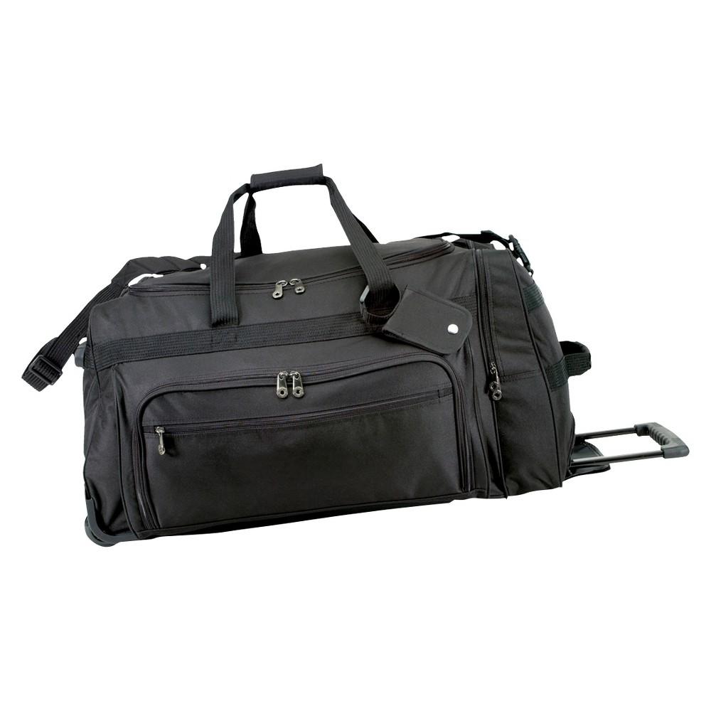 G. Pacific Wheeled Duffel Bag - Black