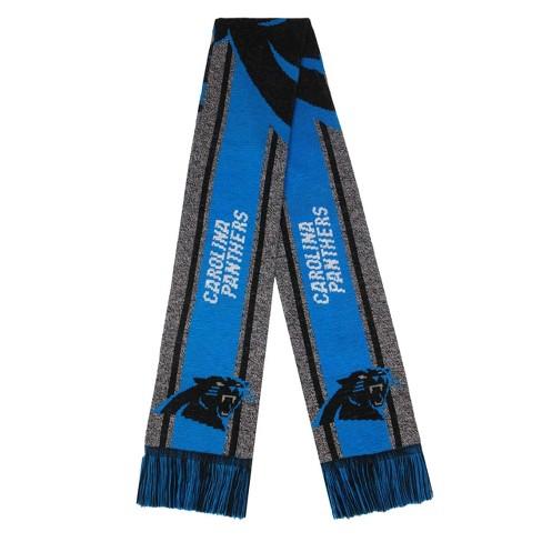 NFL Carolina Panthers Gray Big Logo Scarf - image 1 of 2