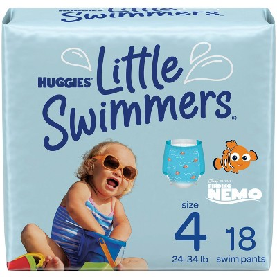 Huggies Little Swimmers Baby Swim Disposable Diapers – (Select Size and Count)