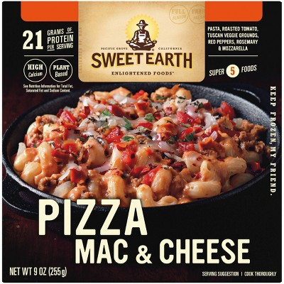 Sweet Earth Natural Foods Frozen Pizza Mac & Cheese - 9oz