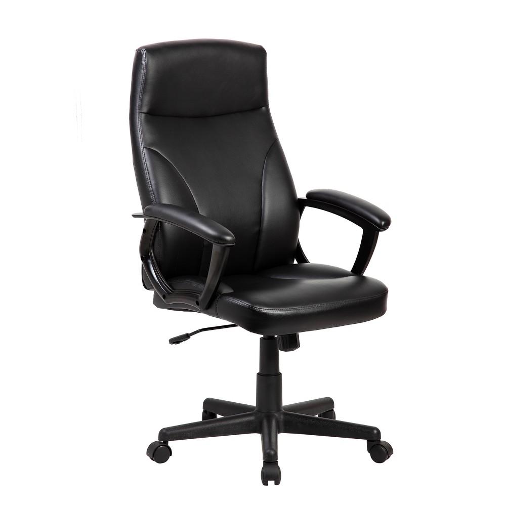 Medium Back Manager Chair Black - Techni Mobili