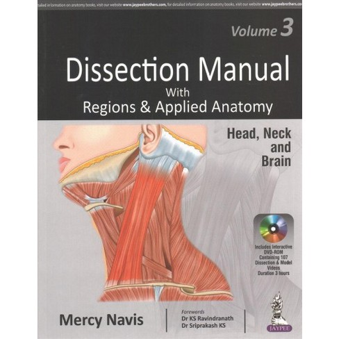 Dissection Manual With Regions & Applied Anatomy : Head & Neck and ...