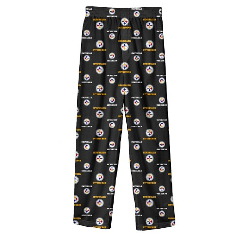 5c55bea8 Pittsburgh Steelers Boys' Team Pride All Over Print Lounge Pants L