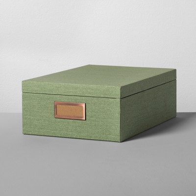Storage Box Large - Sage Green - Hearth & Hand™ with Magnolia