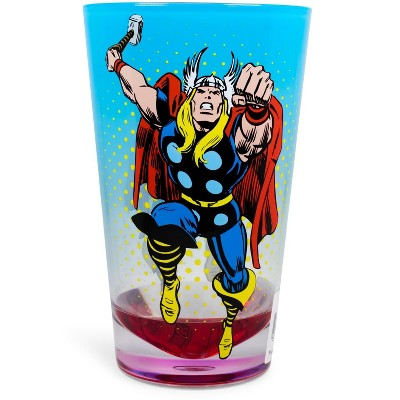 Just Funky Marvel Retro Thor 16oz Shatter-Proof Acrylic Cup