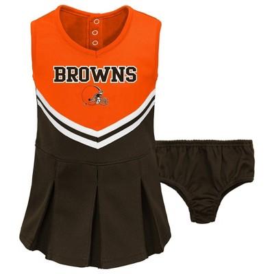 NFL Cleveland Browns Baby Girls' Cheer Set