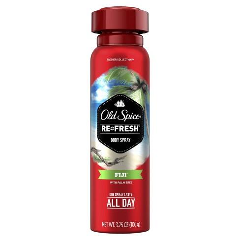 Old Spice Fresher Fiji Scent Body Spray for Men - 3.75oz - image 1 of 4