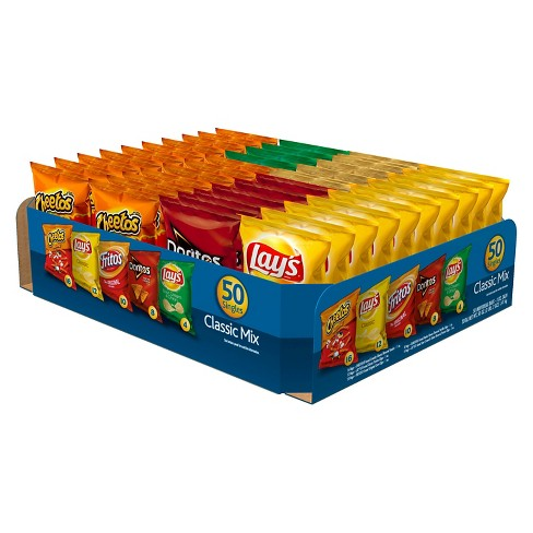 Frito-Lay Classic Mix Snack Size Variety Pack 50 ct - image 1 of 2