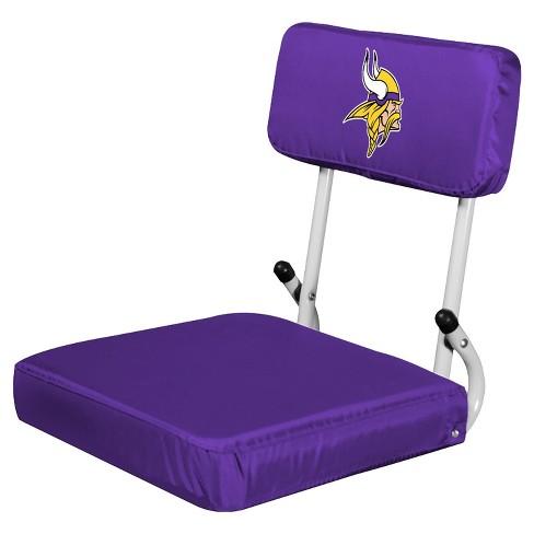 Nfl Minnesota Vikings Portable Hardback Seat