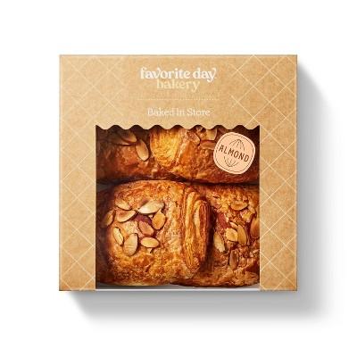 Almond Croissants - 10.6oz/4ct - Favorite Day™