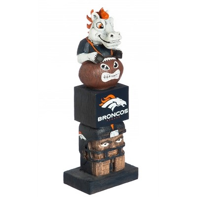NFL Denver Broncos Team Sports America Tiki Tiki Totem