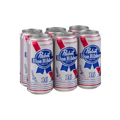 Pabst Blue Ribbon Beer - 4pk/16 fl oz Cans