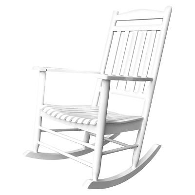 Maine Porch Rocker - White