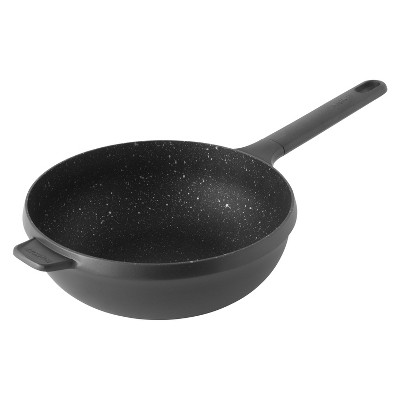 "BergHOFF GEM 10"" Non-Stick Stir Fry Pan 3 Qt, Black"