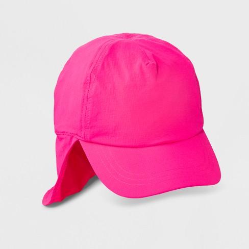 1192b9966c637 Girls  SPF Baseball Hat - Cat   Jack™ Pink One Size   Target