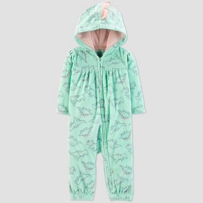 Baby Girls' Dino Romper - Just One You® made by carter's Mint Newborn