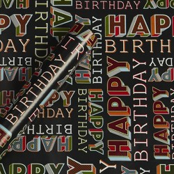 Happy Birthday Gift Wrap Paper - Spritz™