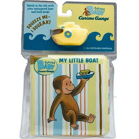 Curious Baby My Little Boat - (Curious Baby Curious George) by  H A Rey (Mixed media product) - image 1 of 1