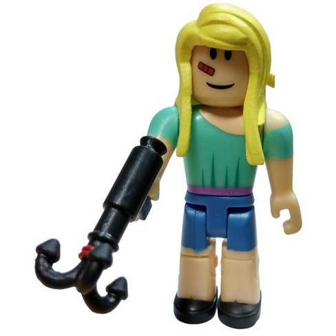 Roblox Series 4 - Roblox Red Series 4 Natural Disaster Survivor Mini Figure With Red Cube And Online Code Loose