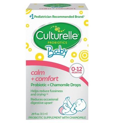 Culturelle Baby Calm + Comfort Probiotic + Chamomile Drops 0-12 months - 0.29 fl oz