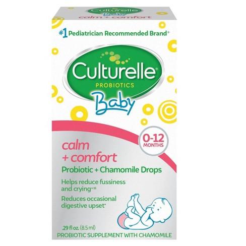 Culturelle Baby Calm + Comfort Probiotic + Chamomile Drops 0-12 months - 0.29 fl oz - image 1 of 3