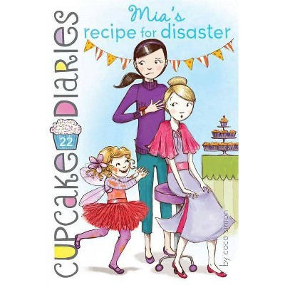 Mia's Recipe for Disaster - (Cupcake Diaries) by  Coco Simon (Paperback)