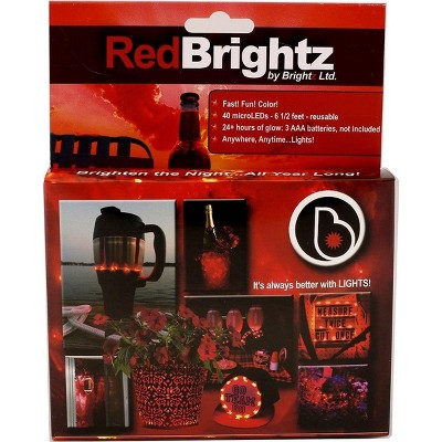 Brightz Ltd Everyday Color Brightz LED Light Accessory: Red