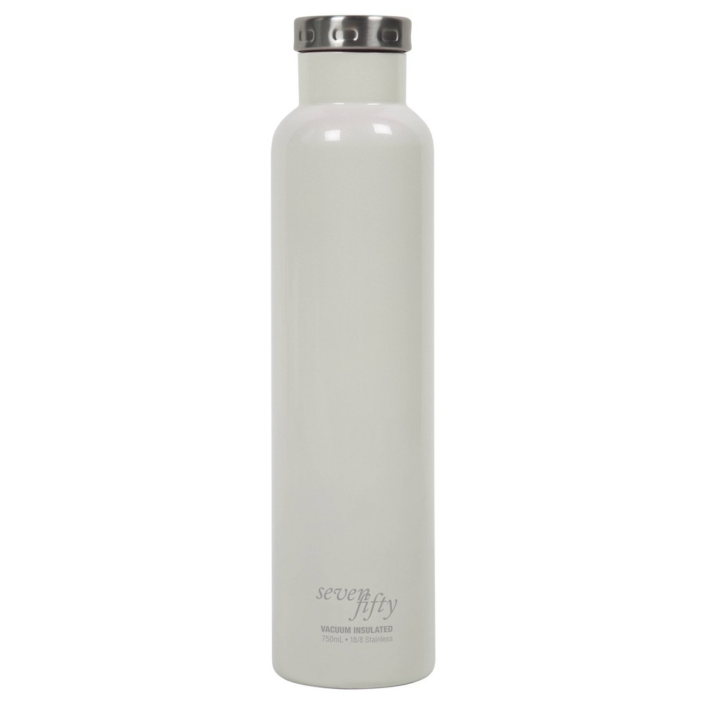 Image of Seven/Fifty 750ml Wine Growler Pearl White