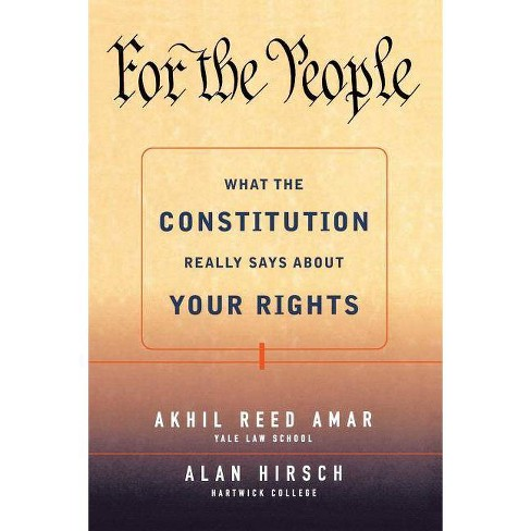 For the People - by  Akhil Reed Amar & Alan Hirsch (Paperback) - image 1 of 1