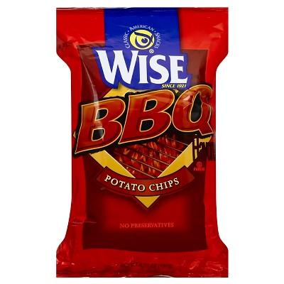 Wise BBQ Potato Chips - 6.75oz