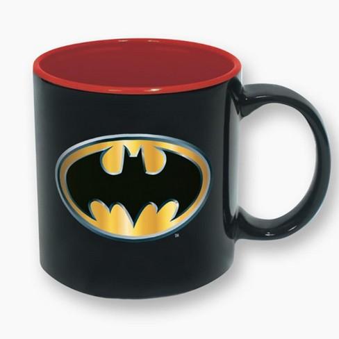 ICUP, Inc  DC Comics Batman Logo 16oz Ceramic Coffee Mug