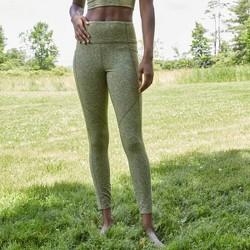 Women's High-Waisted Brushed Jersey 7/8 Leggings - JoyLab™