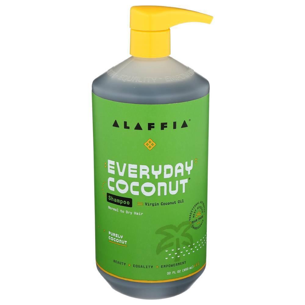 Image of Alaffia Purely Coconut & Ginger Shampoo - 32 fl oz