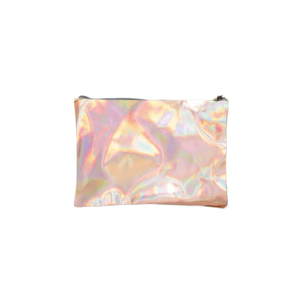 Image of Adore Holographic Metallic Rose Gold Bag