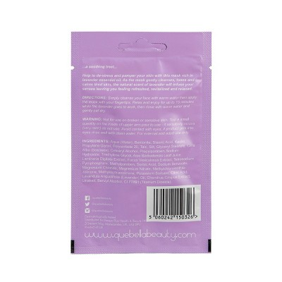 Que Bella Relaxing Lavender Mud Face Mask - 0.5oz