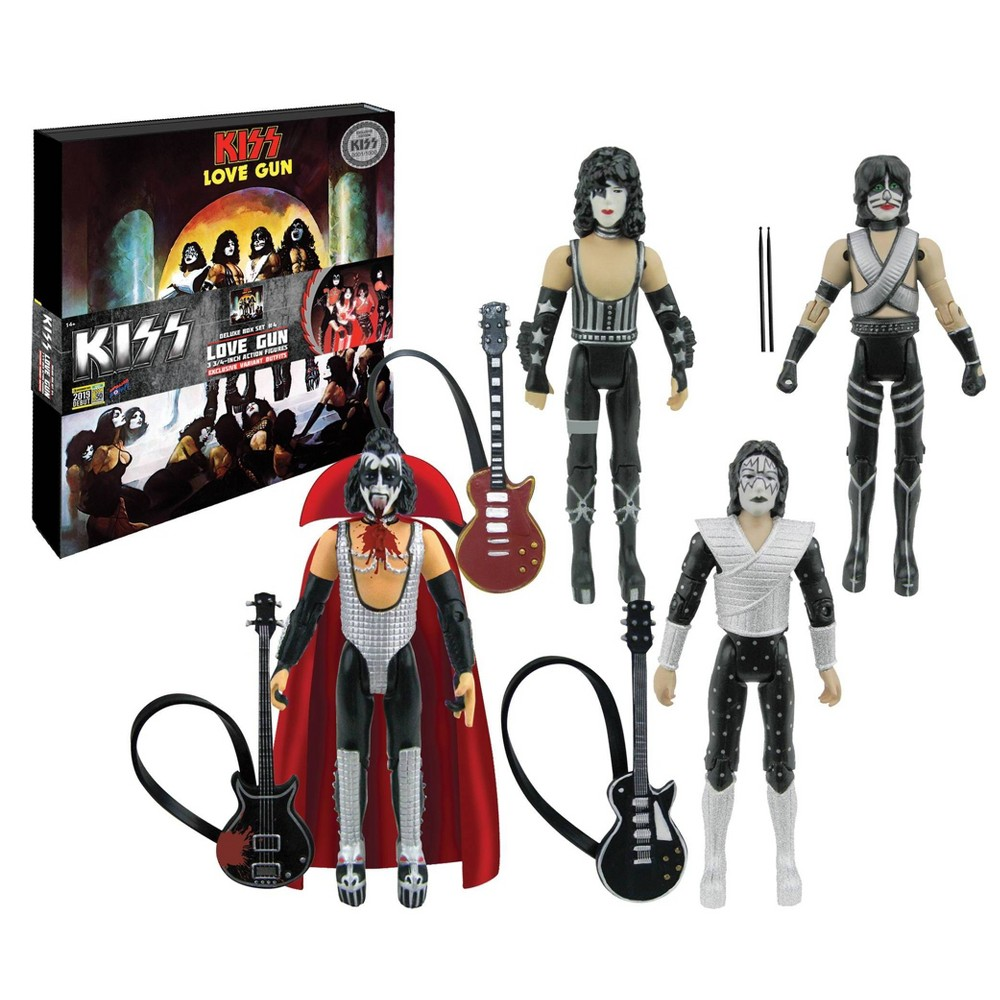 "Image of ""KISS Love Gun 3.75"""" Action Figure Deluxe Box Set (SDCC Debut)"""