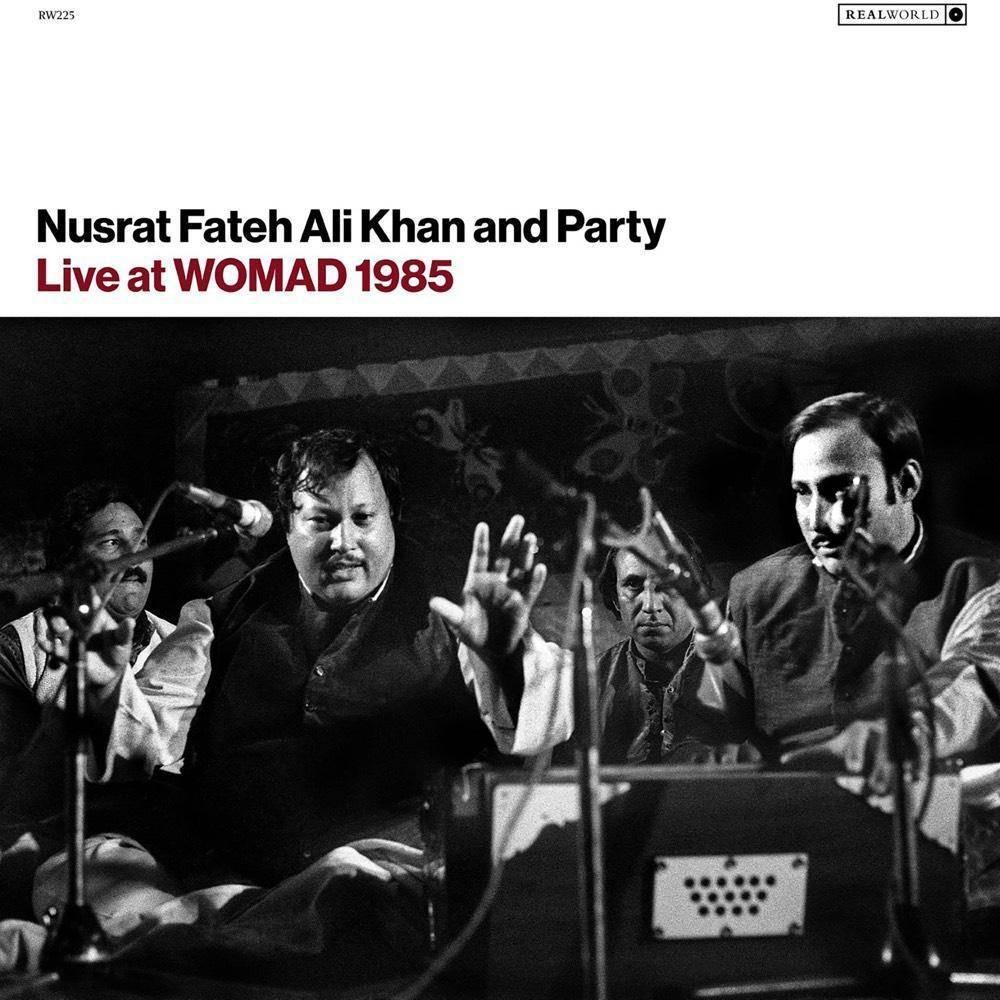 Nusrat Fateh Ali Khan Live At Womad 1985 Cd