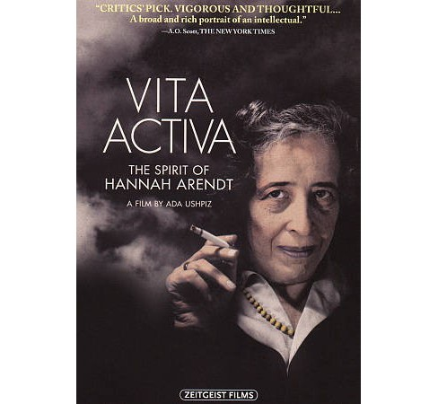 Vita Activa:Spirit Of Hannah Arendt (DVD) - image 1 of 1