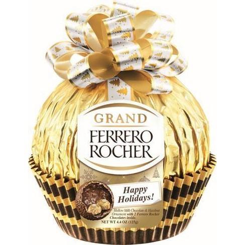 Ferrero Rocher Grand Rocher Holiday Chocolates - 4.4oz - image 1 of 1