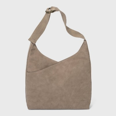 Magnetic Closure Hobo Handbag - Universal Thread™ Taupe