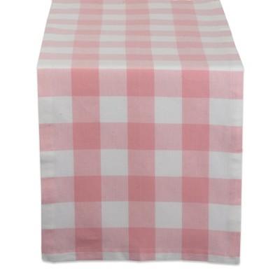 Buffalo Check Tablecloth Pink - Design Imports