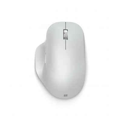 Microsoft Bluetooth Ergonomic Mouse Glacier - Bluetooth 4.0 Connectivity - 2.40 GHz Operating Frequency - 3 customizable buttons