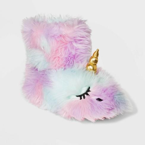 Girls' Bootie Slippers - Cat & Jack™ - image 1 of 3